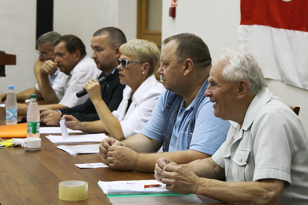 Belarusian Social Democratic Hramada in Minsk