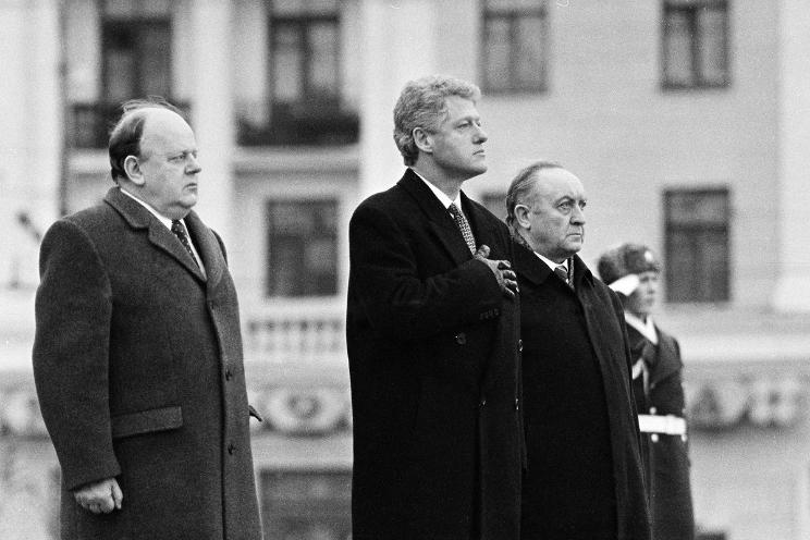 Станислав Шушкевич: Я пригласил Клинтона в Беларусь во время официального визита в Вашингтон